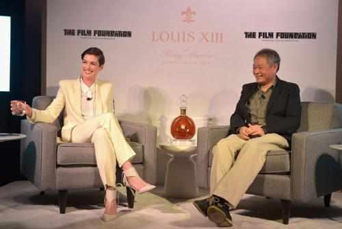 Academy Award winning actress Anne Hathaway and Academy Award winning director Ang Lee