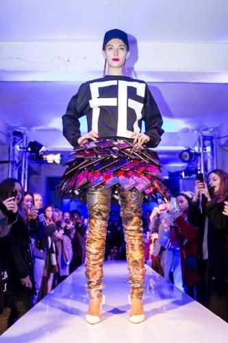 Nokia Interactive Skirt at London Fashion Week