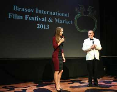 Producer Daria Trifu and Director Bruno Pischiutta present Brasov International Film Festival & Market.