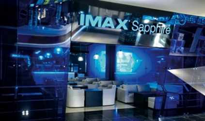 IMAX Laser Projection System in Moscow