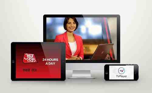 TVPlayer to Deliver Hindi News Channel Aaj Tak in UK