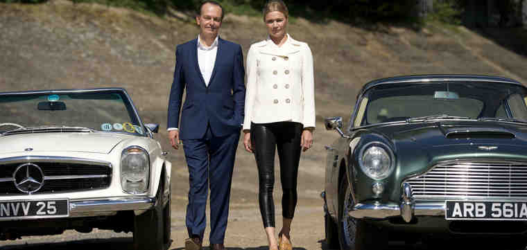 Supermodel Jodie Kidd to Host The Classic Car Show