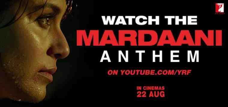 Yash Raj Films' Mardaani starring Rani Mukerji