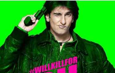 Ranveer Singh #WillKillFor Dil. What will you kill for?
