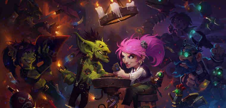 Hearthstone: Heroes of Warcraft—Goblins vs Gnomes!