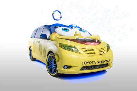 Toyota Sienna Gets Inspired by the SpongeBob Movie