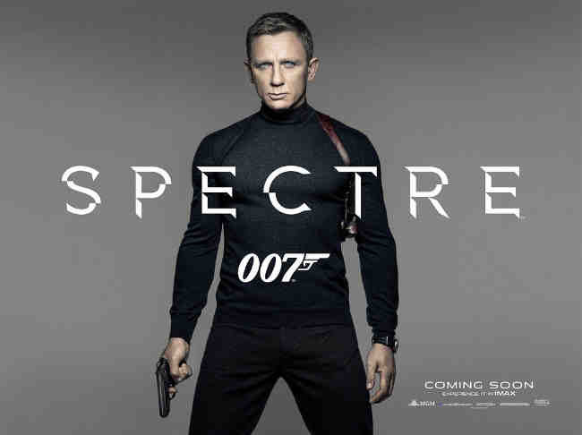 Daniel Craig Features on New Spectre Teaser Poster