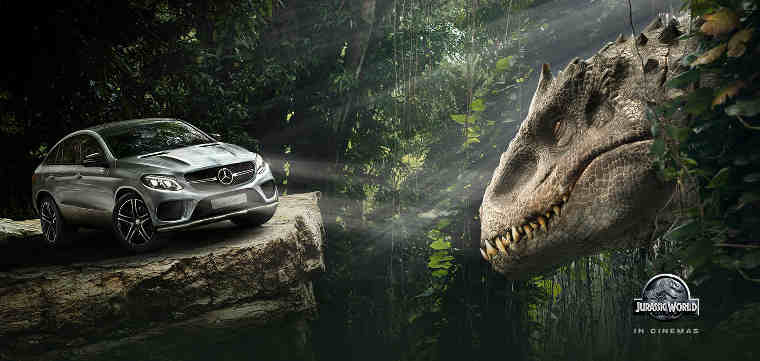 Mercedes-Benz to Support Universal Pictures' Jurassic World