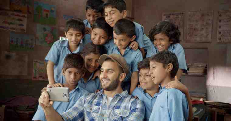 Bollywood Actor Ranveer Singh Drives Campaign to Fight Child Hunger