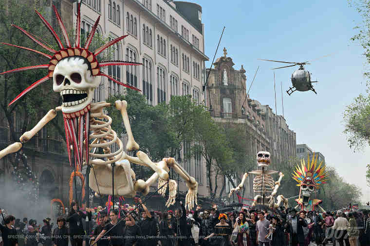 Bond Film Spectre Features Day of the Dead