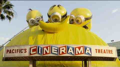 Minions Takeover of ArcLight Hollywood