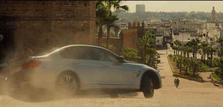 BMW Takes Action Role in Tom Cruise Mission