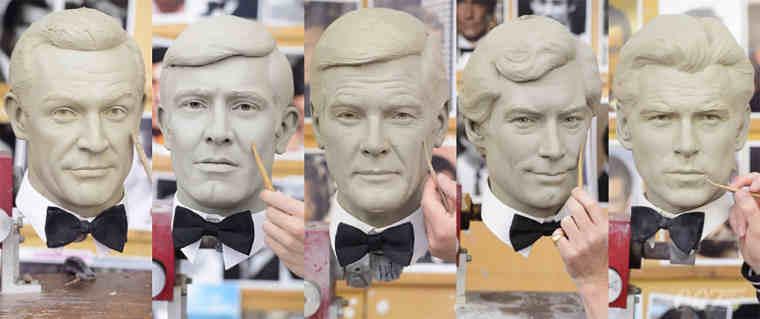 Madame Tussauds Presents All Six James Bonds
