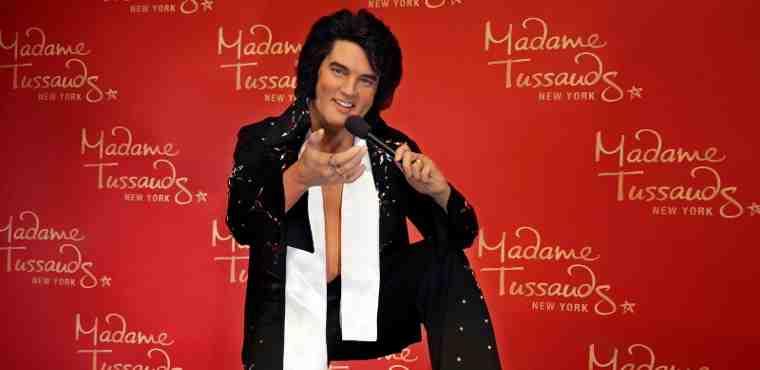 "Madame Tussauds New York Celebrates ""Elvis Week"""
