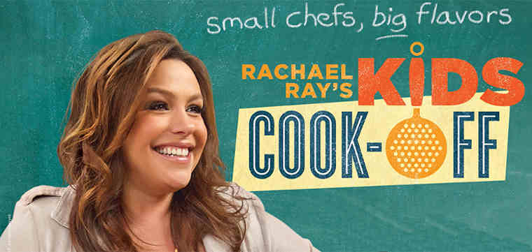 Rachael Ray Mentors Kids in Food Network's Kids Cook-Off