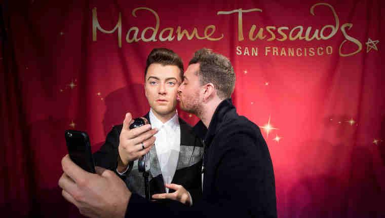 Madame Tussauds Unveils Wax Figure of Sam Smith