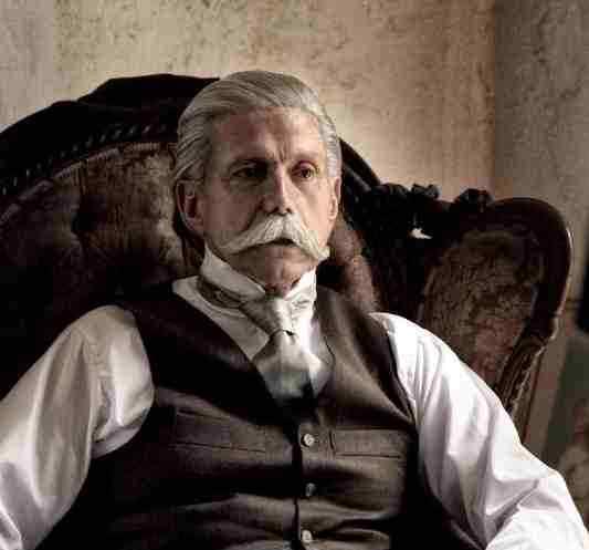 Mexican actor Hector Bonilla as Porfirio Diaz