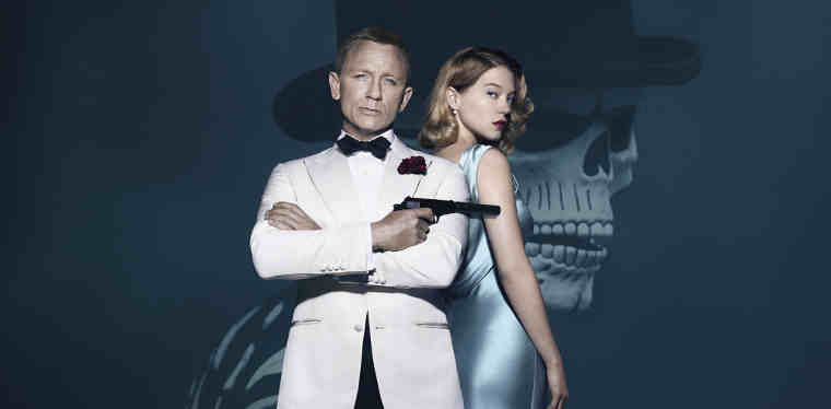 Spectre Artwork Features Daniel Craig and Léa Seydoux
