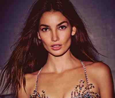 Lily Aldridge Wears the $2 Million Fireworks Fantasy Bra