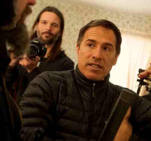 Filmmaker David O. Russell on the set of JOY