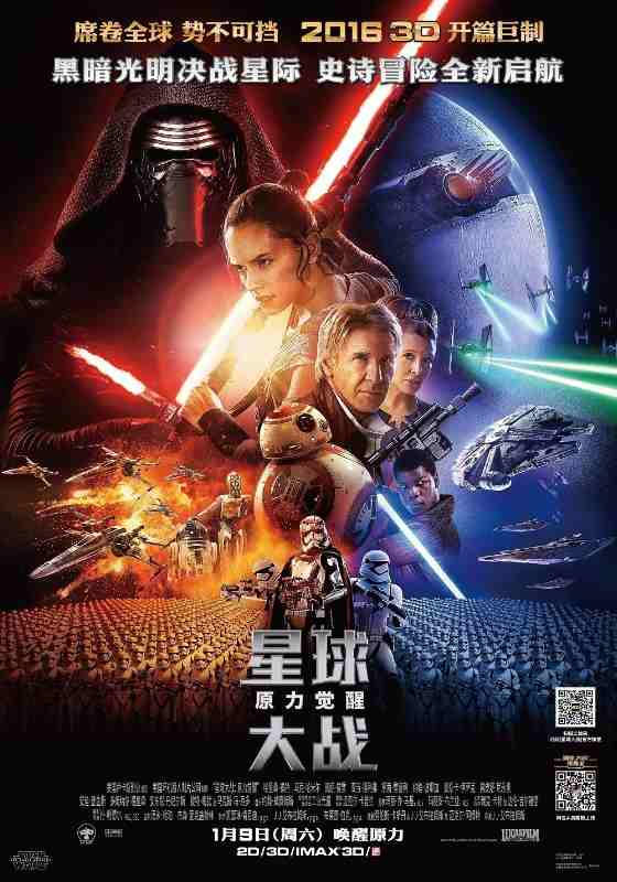 Star Wars: The Force Awakens to Open in China
