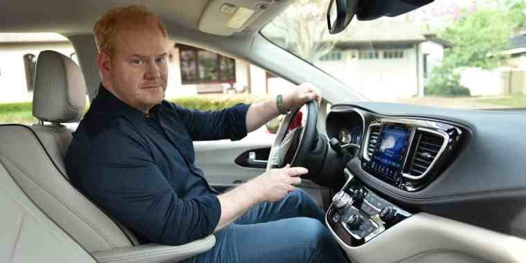 "Jim Gaffigan Stars in Chrysler's ""Dad Brand"" Marketing Campaign"