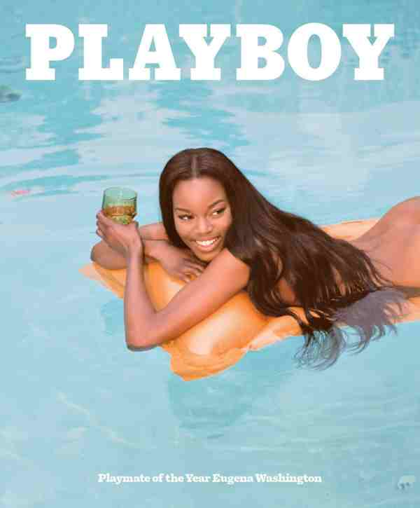 Playboy Names Eugena Washington Its Playmate of the Year