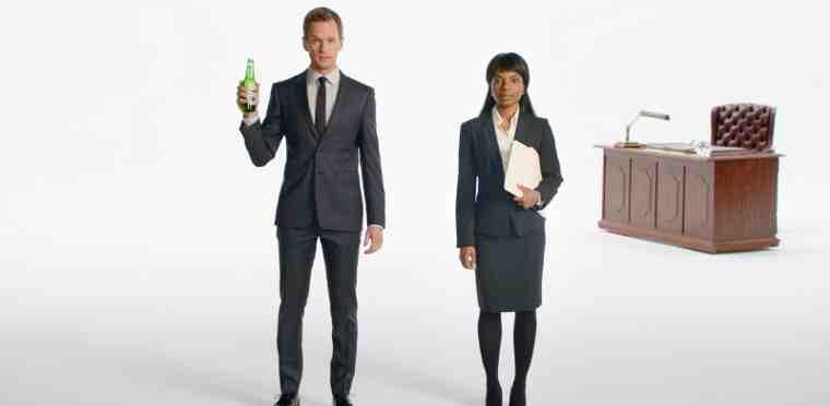 Neil Patrick Harris Stars in Heineken Beer Campaign