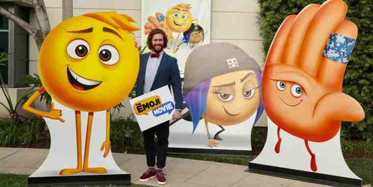 TJ Miller as Gene attends Sony Pictures Animation Slate Presentation in Columbia Pictures and Sony Pictures Animation's THE EMOJI MOVIE.