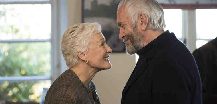 THE WIFE by Björn Runge starring Glenn Close and Jonathan Price. Photo courtesy: EFP
