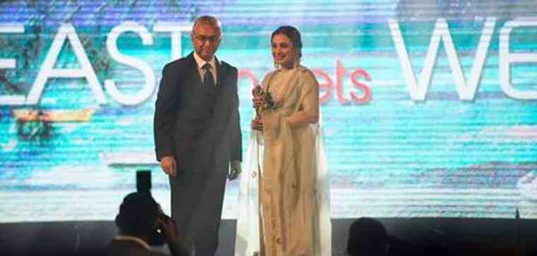 Bollywood Actress Rani Mukerji Gets Mauritian Cinema Award