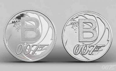 James Bond Collectors Coins