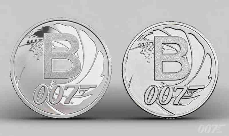 James Bond Collectors Coins