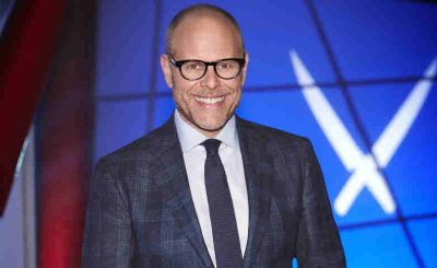 Alton Brown on Food Network's Iron Chef America