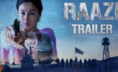 Raazi Starring Alia Bhatt
