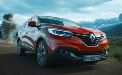 Renault KADJAR exterior in Star Wars environment