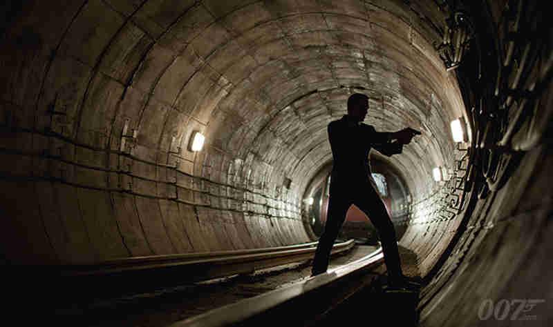 Skyfall Underground Chase