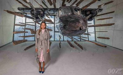 Naomie Harris Opens James Bond Exhibition in Austria