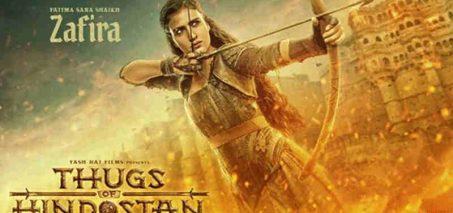 Fatima Sana Shaikh Appears as Zafira in Thugs of Hindostan