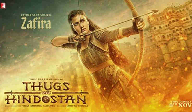 Fatima Sana Shaikh Appears as Zafira in Thugs of Hindostan