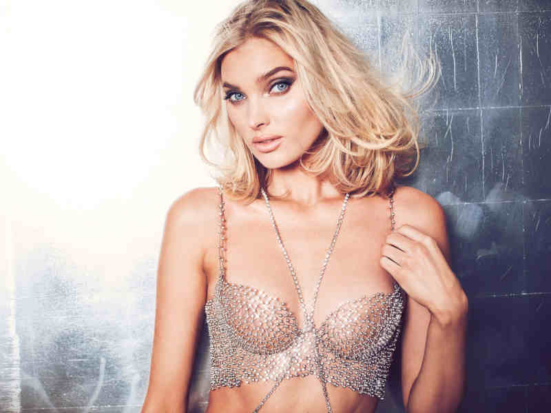 Victoria's Secret Angel Elsa Hosk Wears The 2018 Dream Angels Fantasy Bra Designed Exclusively For Victoria's Secret By Atelier Swarovski