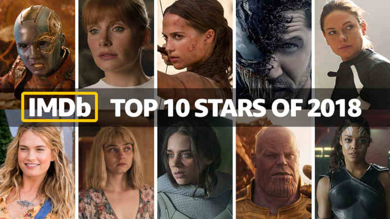 IMDb Top 10 Stars of 2018