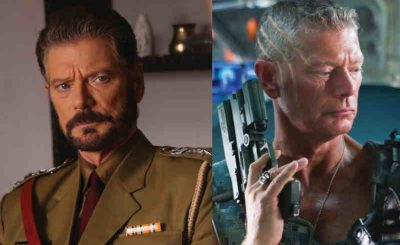 "Stephen Lang: Left Side from Nugen Media Productions, Right Side still from the Movie ""Avatar'"