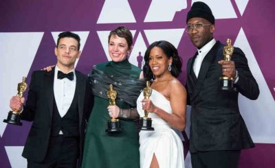 Oscar® winners Mahershala Ali, Olivia Colman, Regina King and Rami Malek will present at the 92nd Oscars®, show producers Lynette Howell Taylor and Stephanie Allain announced today. All return to the Oscars stage after winning last year in their respective acting categories. The Oscars will air live Sunday, February 9, on the ABC Television Network.