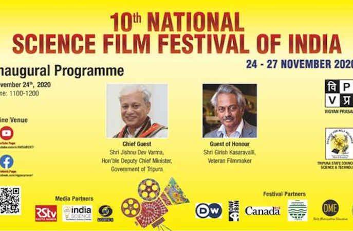 Science Film Festival of India. Photo: PIB