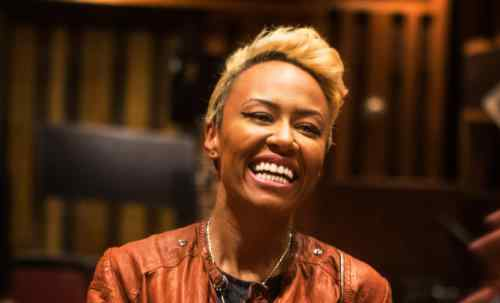 Emeli Sande' During Lincoln Journey Content Series Shoot.