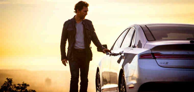 Matthew McConaughey Stars in Lincoln Ad Films