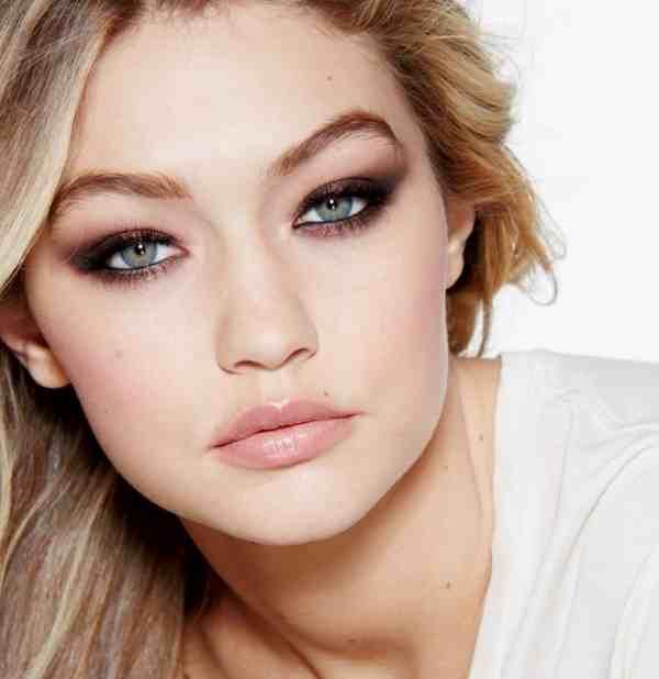 Green-Blue-Eyed Beauty Gigi Hadid Goes with Maybelline
