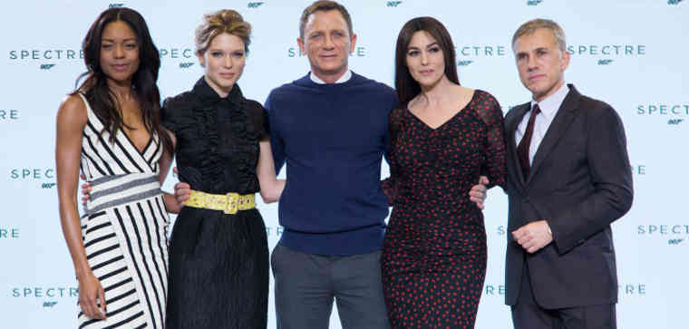 Meet Daniel Craig in the 24th James Bond Adventure 'Spectre'