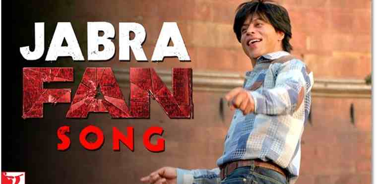 Bollywood Actor Shah Rukh Khan Sings Fan Anthem
